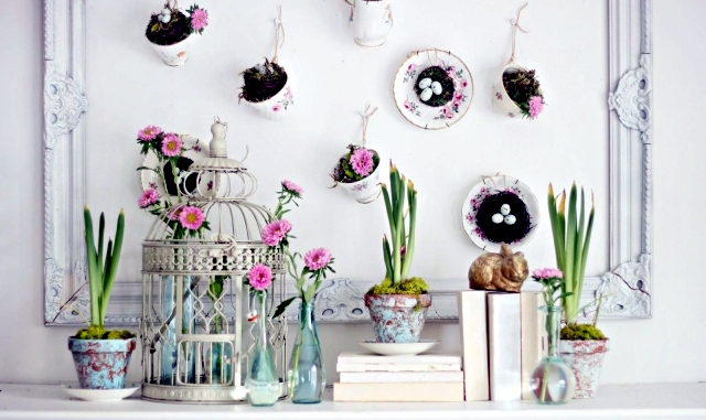 Beautiful Easter Home Decorating Ideas Pictures - Interior Design ...