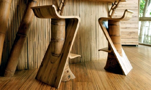Bamboo furniture and versatile sustainability interior design ideas ofdesign - Bamboo bar design ideas ...