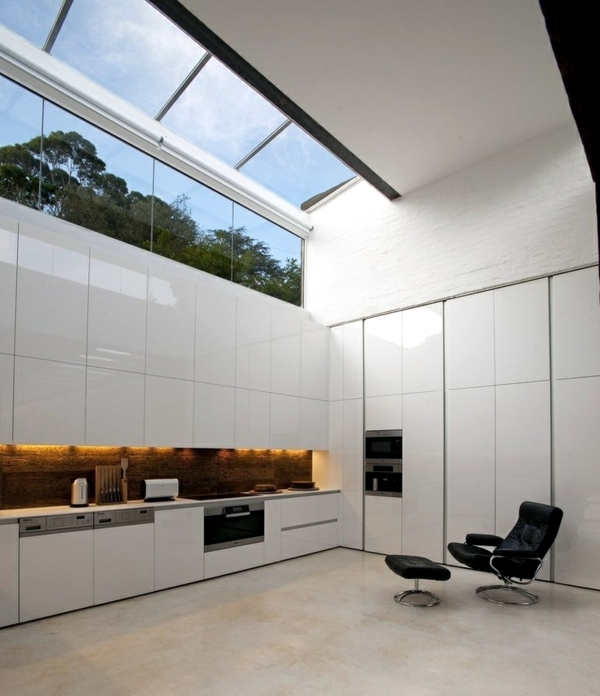Country Kitchen Design Minimalist: White Minimalist Kitchen
