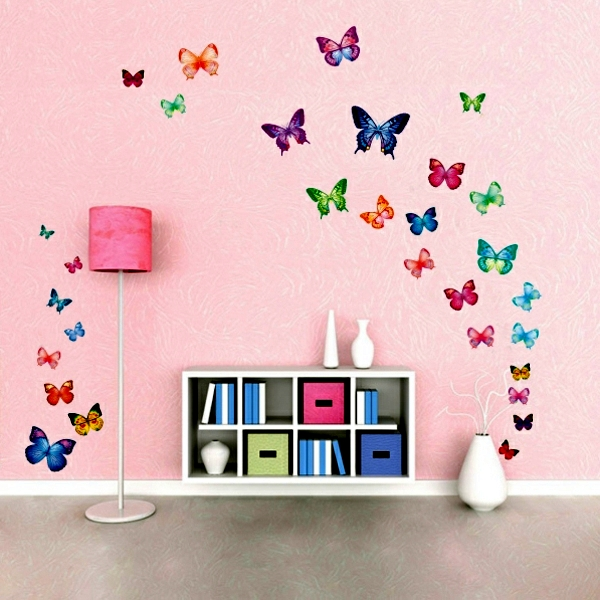 Wall Sticker Ideas Part - 20: 33 Ideas For Decorating With Wall Stickers U2013 To Revitalize The Walls And  Furniture