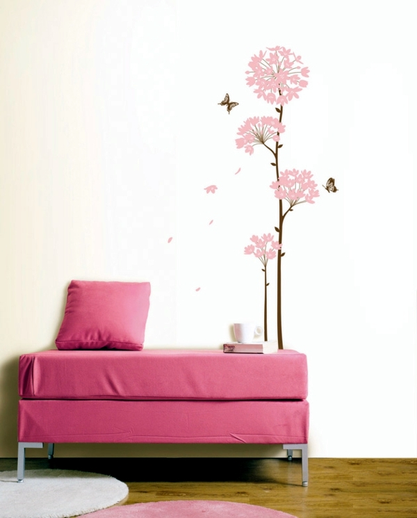 Marvelous Wall Sticker Ideas Part - 14: 33 Ideas For Decorating With Wall Stickers - To Revitalize The Walls And  Furniture
