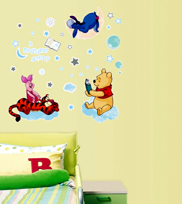 33 ideas for decorating with wall stickers – to revitalize the walls ...