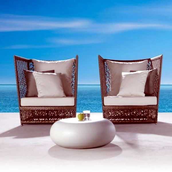 Modern Rattan Garden Furniture Expormin Ideas With A