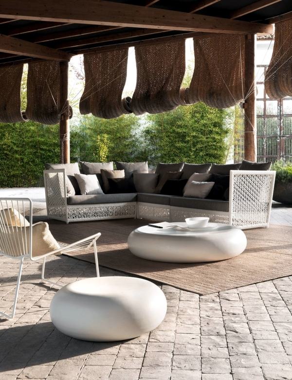Modern Rattan Garden Furniture Expormin - ideas with a Mediterranean flair