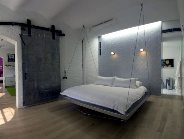 Suspend beds - 29 great design ideas for unique accent in the house