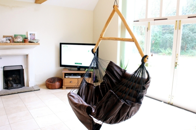 Arty backyard hammock with stand