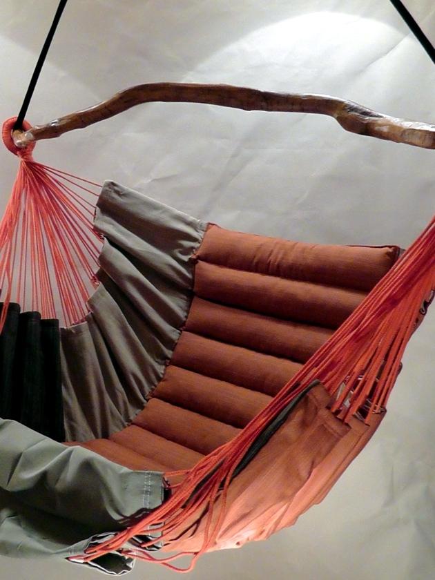 Arty backyard hammock with stand