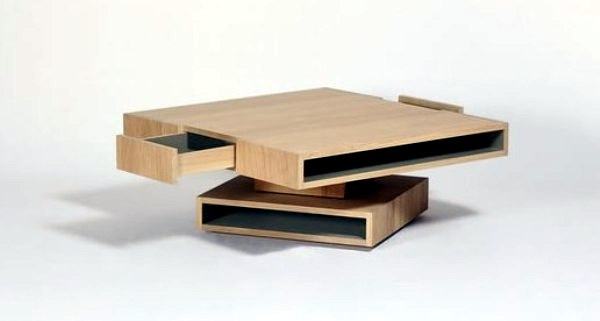 Cubocarr A Coffee Table In Oak With Modern Storage Interior Design Ideas Ofdesign