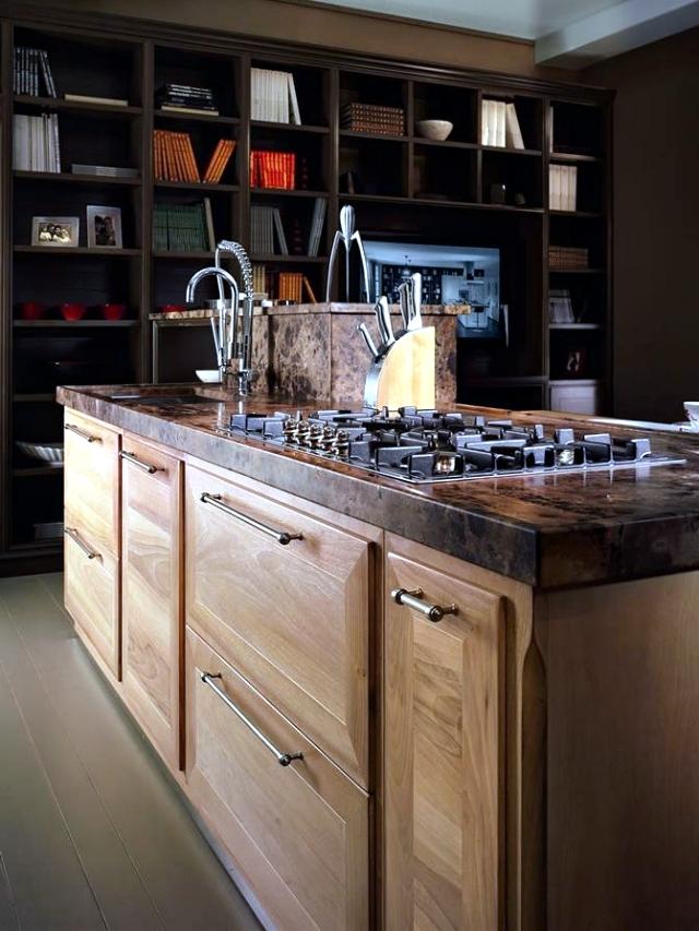 Modern solid wood kitchen Majestic Otto Cento