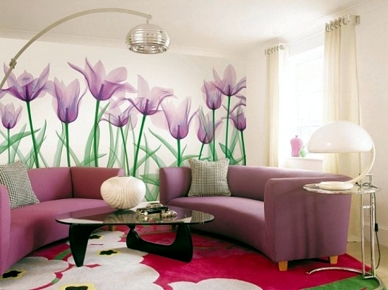 13 creative ideas for the design of the wall in the living room