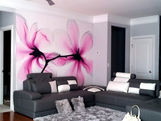 13 creative ideas for the design of the wall in the living room with ...