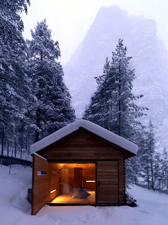 Beautiful signs everywhere interior design with wooden cabin