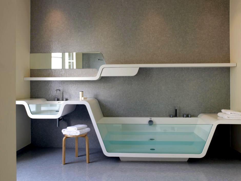 Modern bathroom by means of organic design | Interior Design Ideas ...