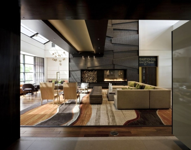 Surprising The Lobby Of The Renaissance Hotel Baronette Modern Design In Largest Home Design Picture Inspirations Pitcheantrous
