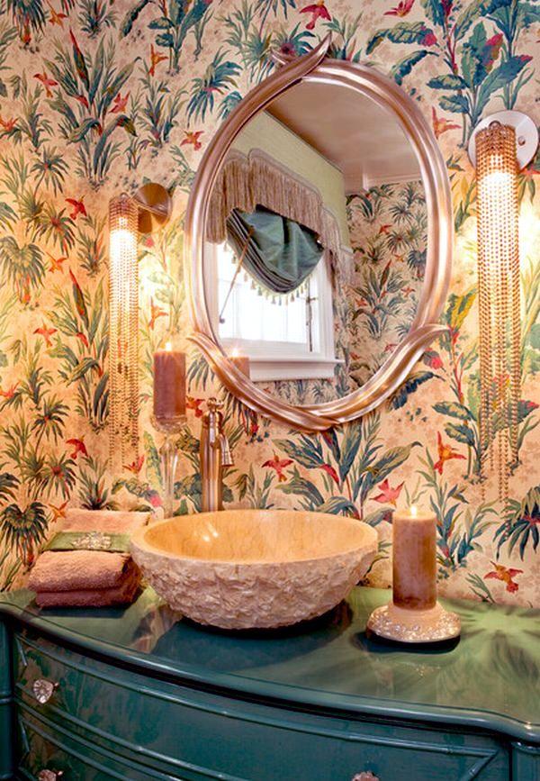 14 design ideas bathroom elegant shapes and noble materials