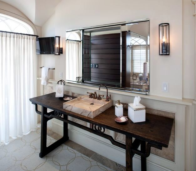 14 design ideas bathroom elegant shapes and noble materials