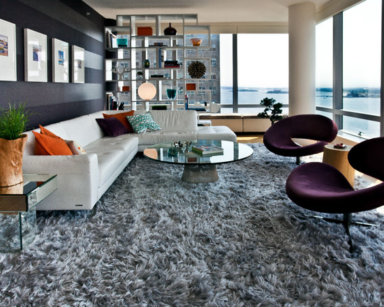 Captivating Carpet Design. Establish A Living Room ...