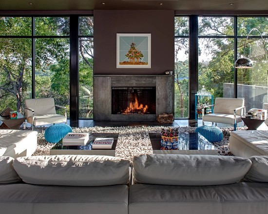 Shaggy Shaggy carpet -120 and stylish ideas for living room furniture