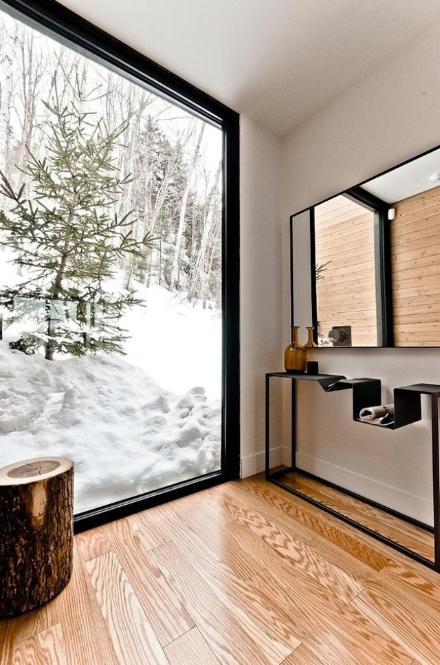 Villa Via Sauvagia reflect the new architecture of mountain