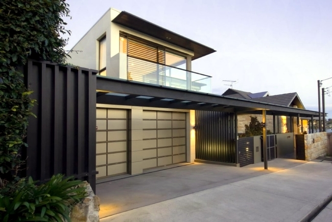 Garage modern holz  Select modern garage door – With a design that fits well at home ...