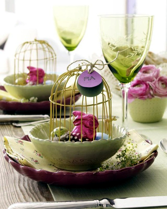 20 Easter decoration ideas for home and table – What do magic ...