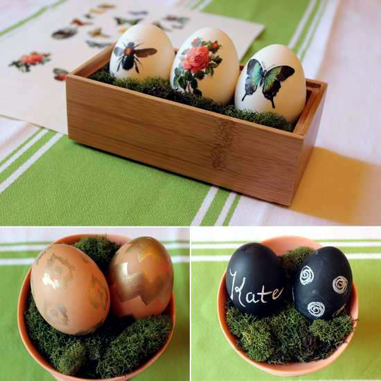 20 Easter decoration ideas for home and table - What do magic quickly?