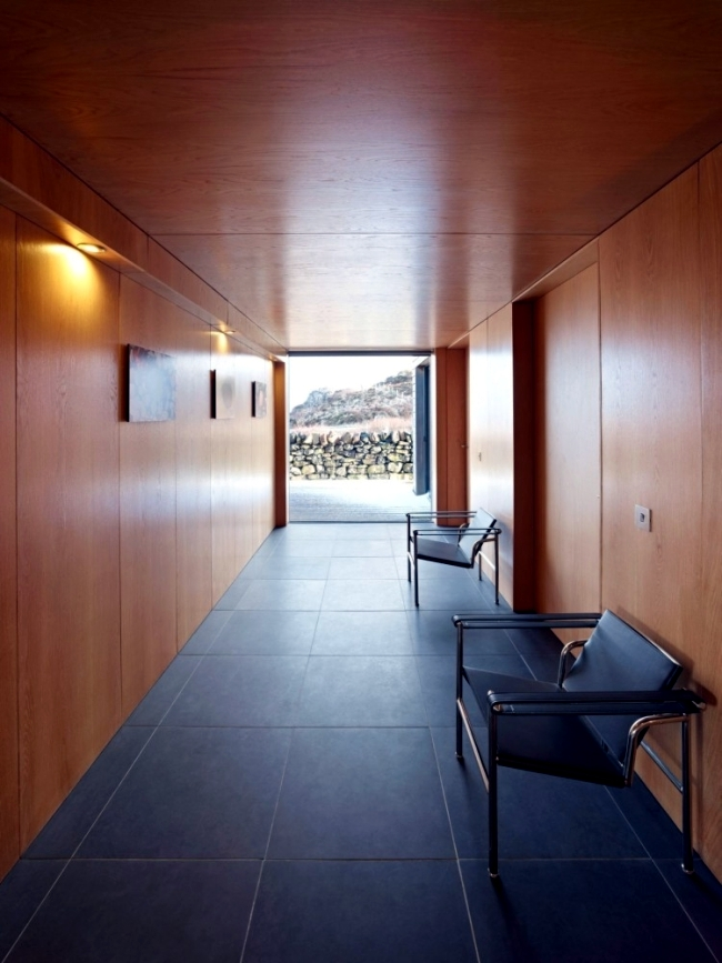 House gabled wooden Scottish combining tradition and modernity