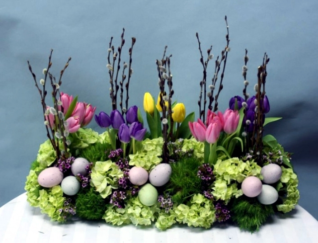 Poinsettia – 23 ideas for bouquets and floral arrangements ...