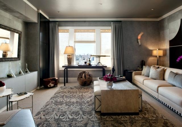 ideas for living room gray walls paint interior design ideas