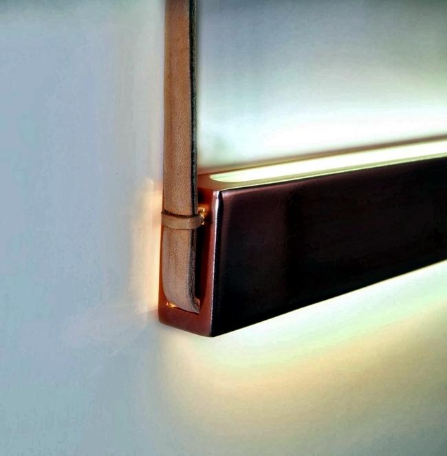 Contemporary wall - original concept for mood lighting