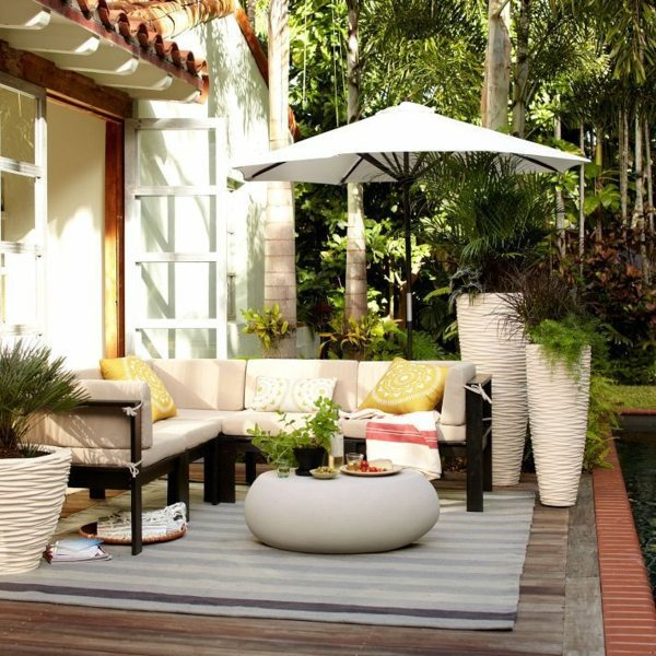 ... Modern terrace design - 100 images and creative ideas