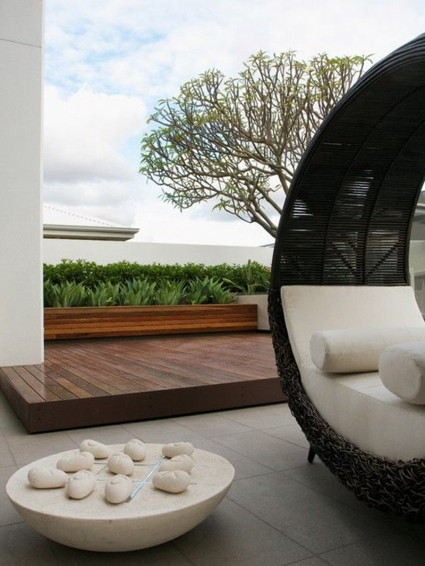 Modern terrace design - 100 images and creative ideas