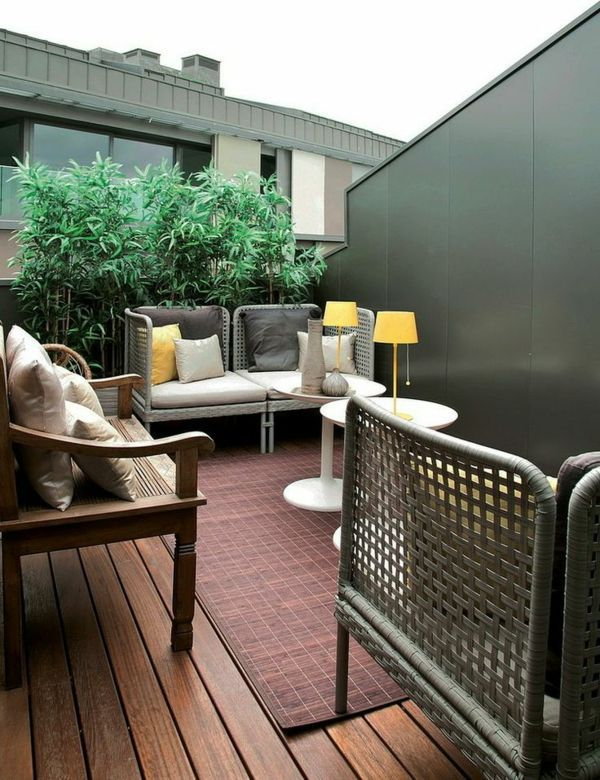 Yellow   Gray Design Modern Terrace Design   100 Images And Creative Ideas