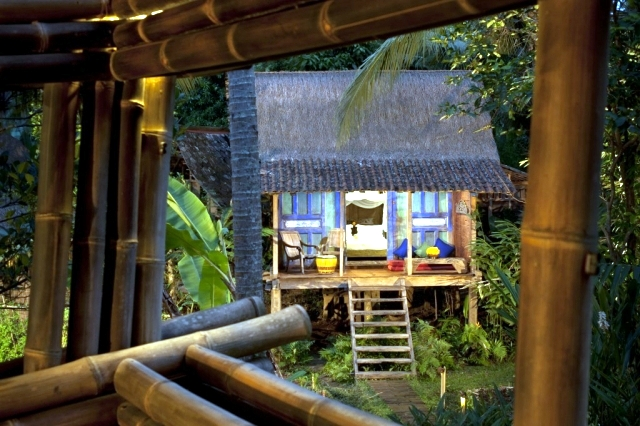 Bambu Indah Boutique Hotel, Bali offers luxury and wild at the same time