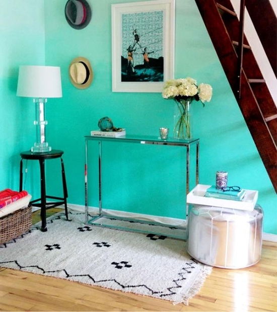 Kretaive Ideas for decorating the wall in the shadow color style fashion