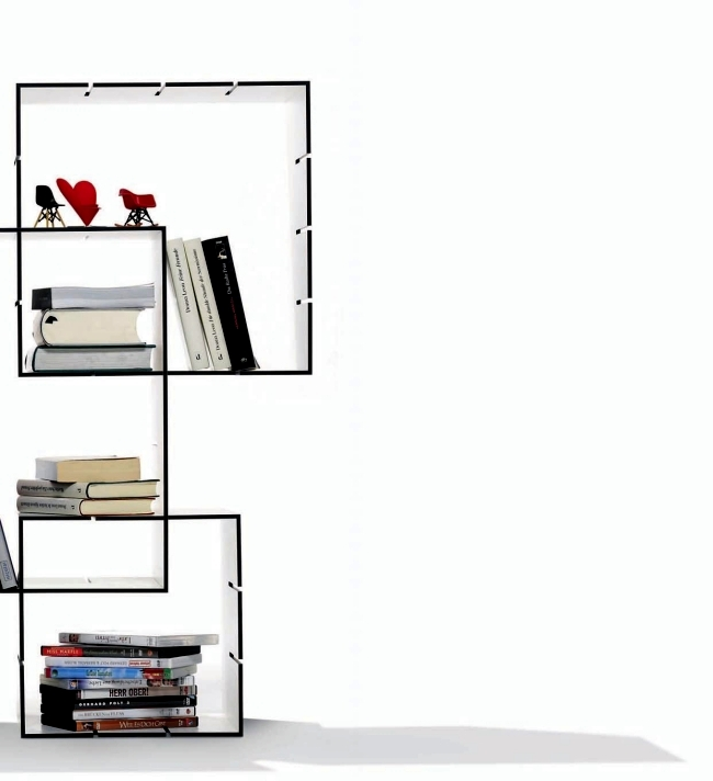 Link Shelving Florian Gross offers great freedom of design