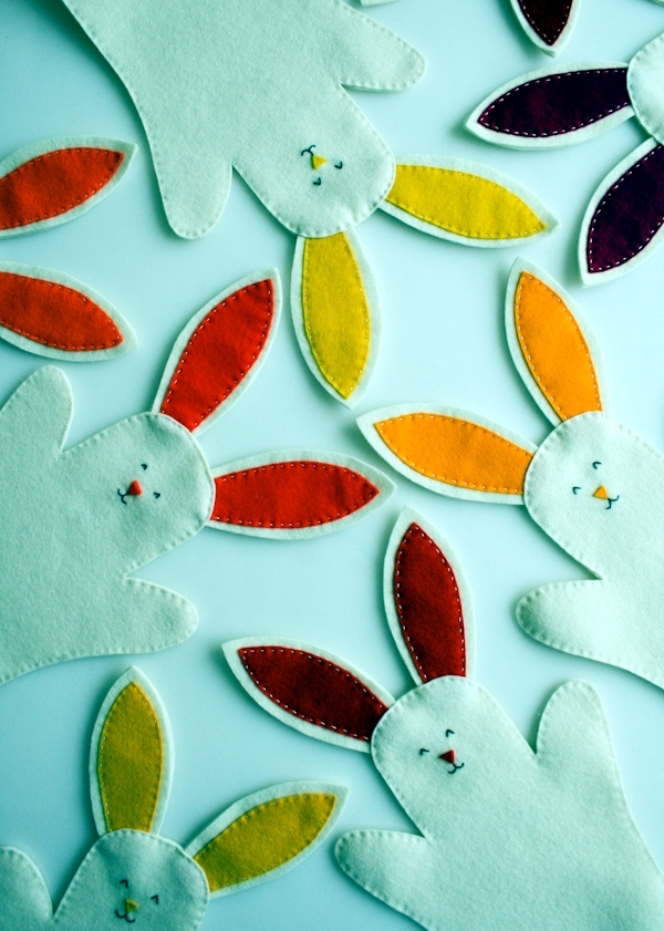 Easter Bunny Crafts Ideas For Decorating Colorful And