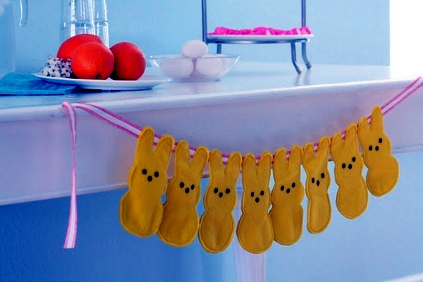 Easter Bunny Crafts - ideas for decorating colorful and cheerful Easter