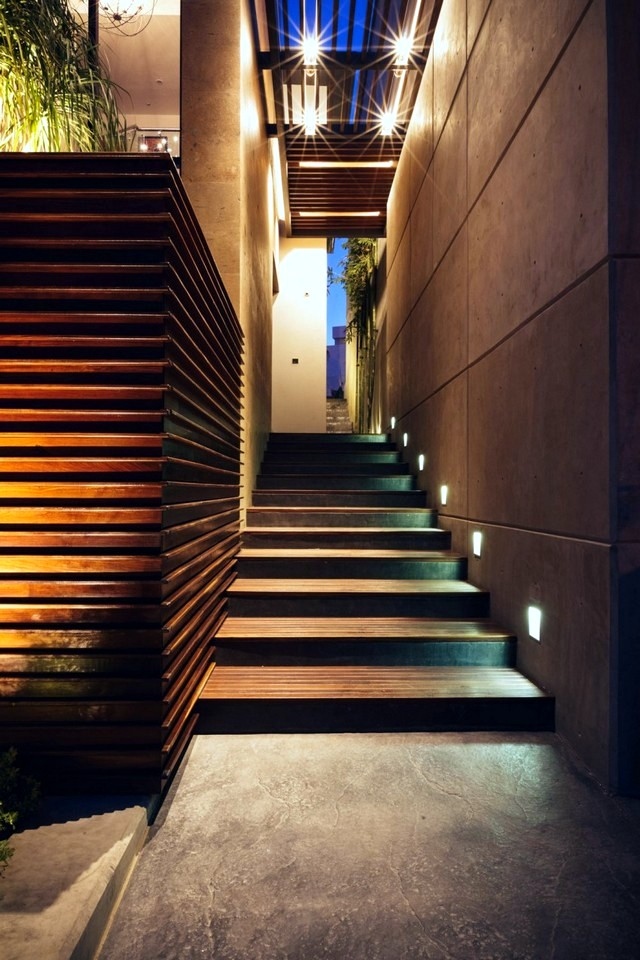 House with wooden facade adapts to the environment