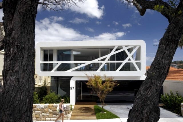 Minimalist Architect House House With Glass Facade Mpr Interior