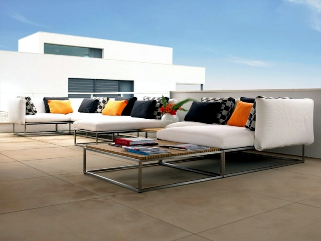 Garden Furniture - 22 interesting ideas for garden paradise