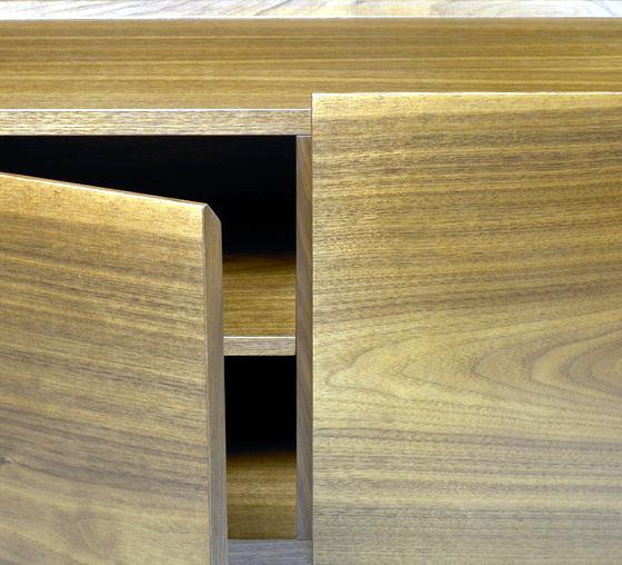 Solid wood furniture Modern Walnut Milano Spazio RT