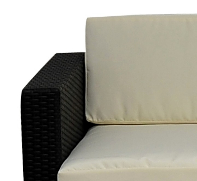 Spice to your garden furniture set rattan lounge
