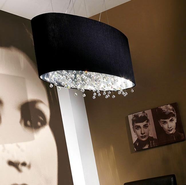 The collection of lamps by Viso - Hollywood glamor and elegance