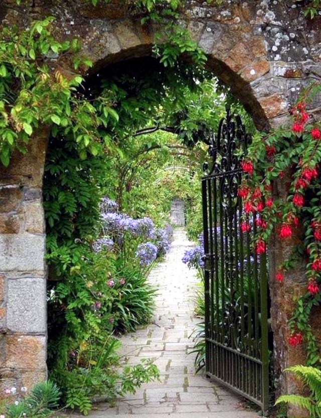 26 ideas for garden gates and garden gates - the first to ...