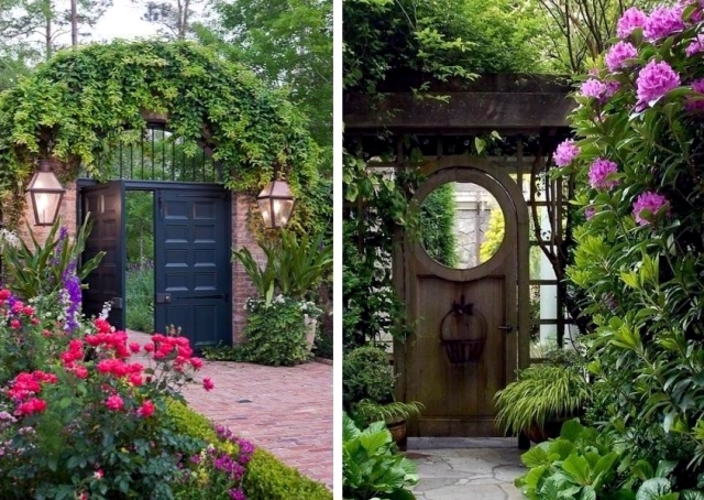 26 ideas for garden gates and garden gates - the first to welcome us