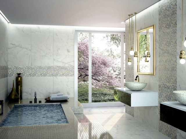 52 ideas for bathroom tiles on the way to your dream for Create your dream bathroom