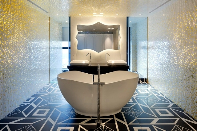 52 ideas for bathroom tiles - on the way to your dream bathroom