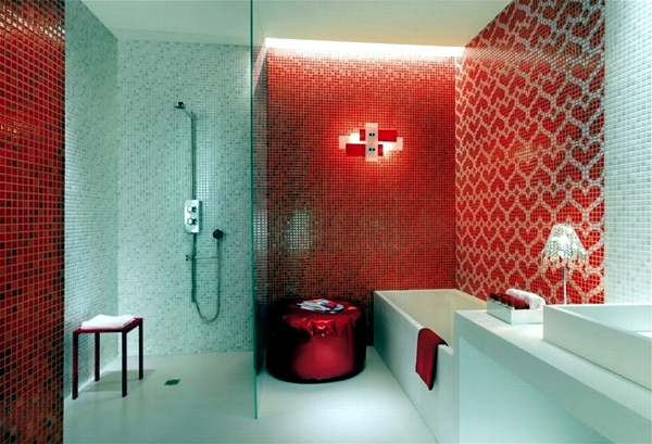 Mosaic Tiles For Bathroom Ideas For 15 Models And Types Of Installation Interior Design