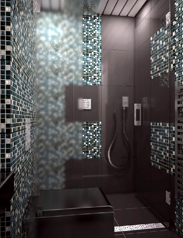 Mosaic Tiles For Bathroom Ideas 15 Models And Types Of Installation